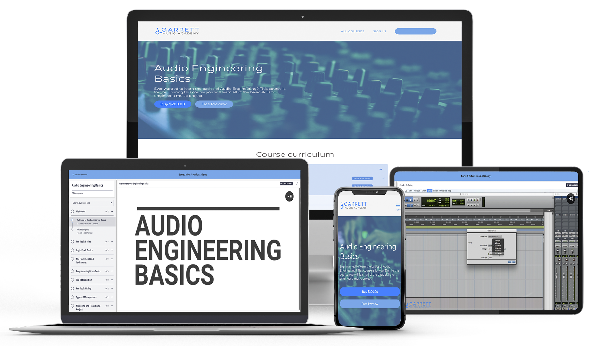 Audio Engineering Basics